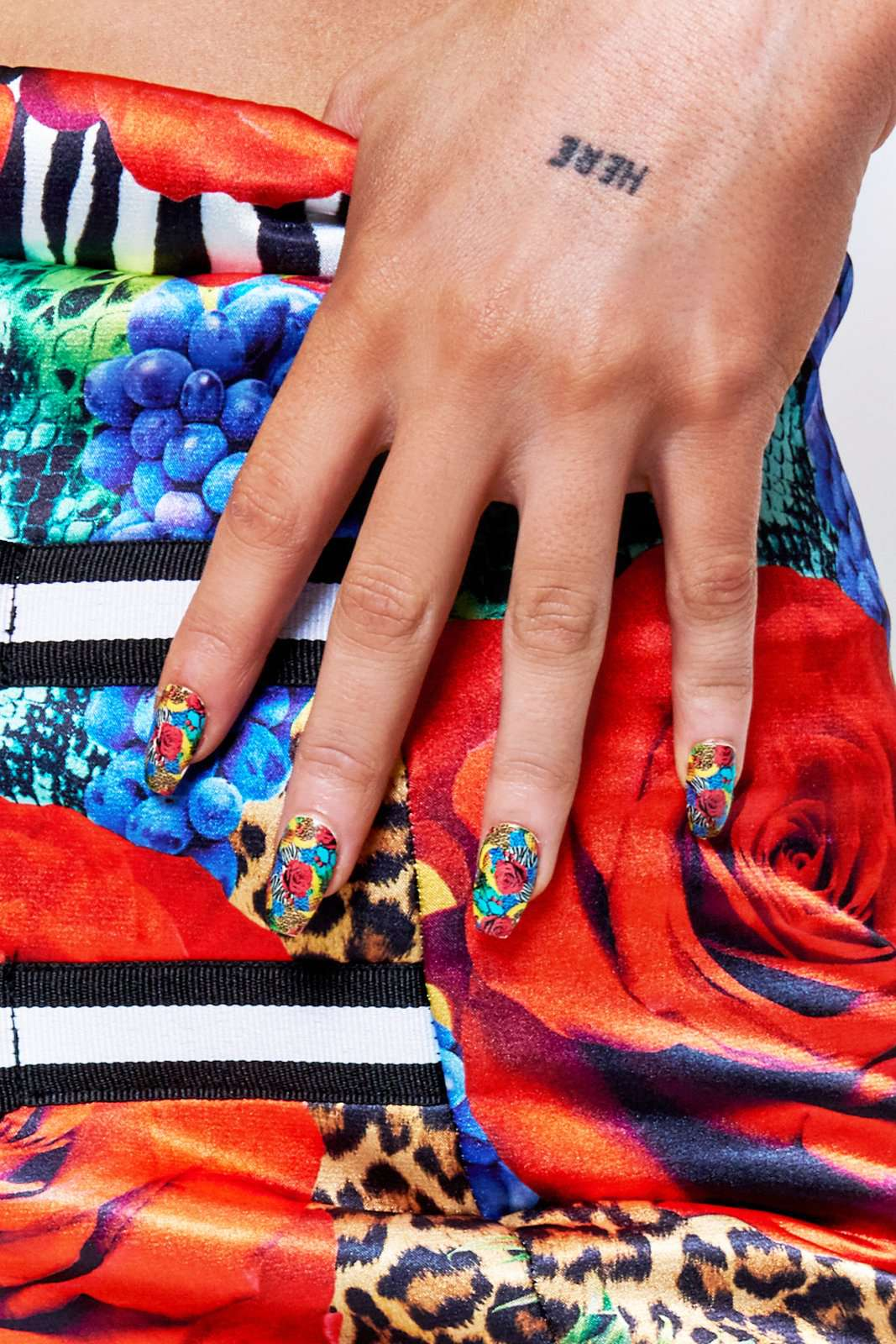 GK Nails X Jaded London Havana Print