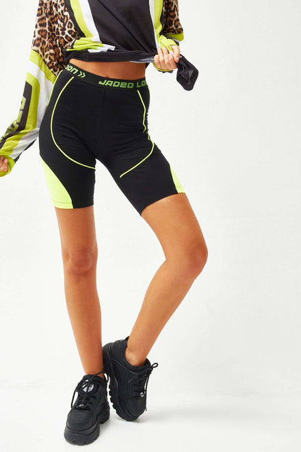 Panelled Cycling Shorts