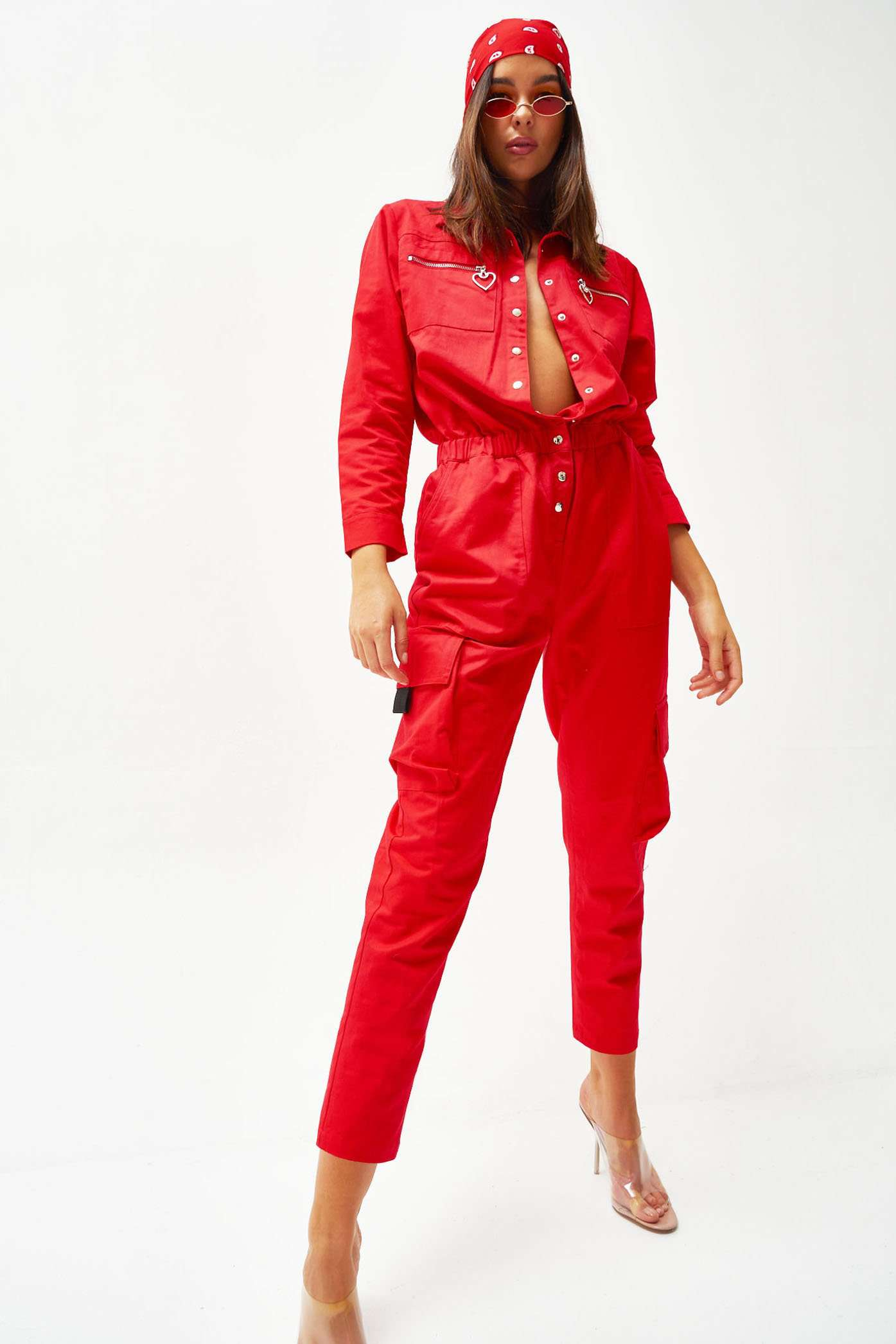 Red Boilersuit