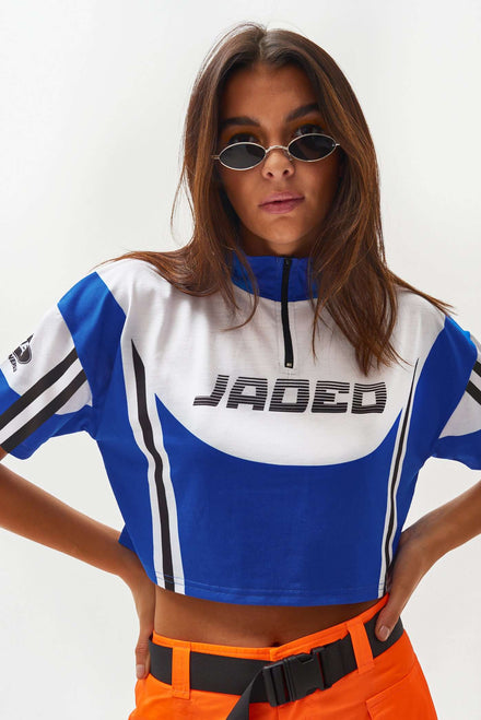 Cropped Cycling Jersey