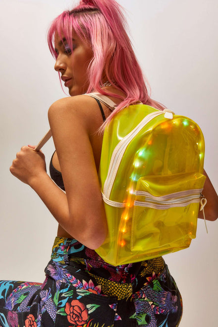 Neon LED Bubble Bag