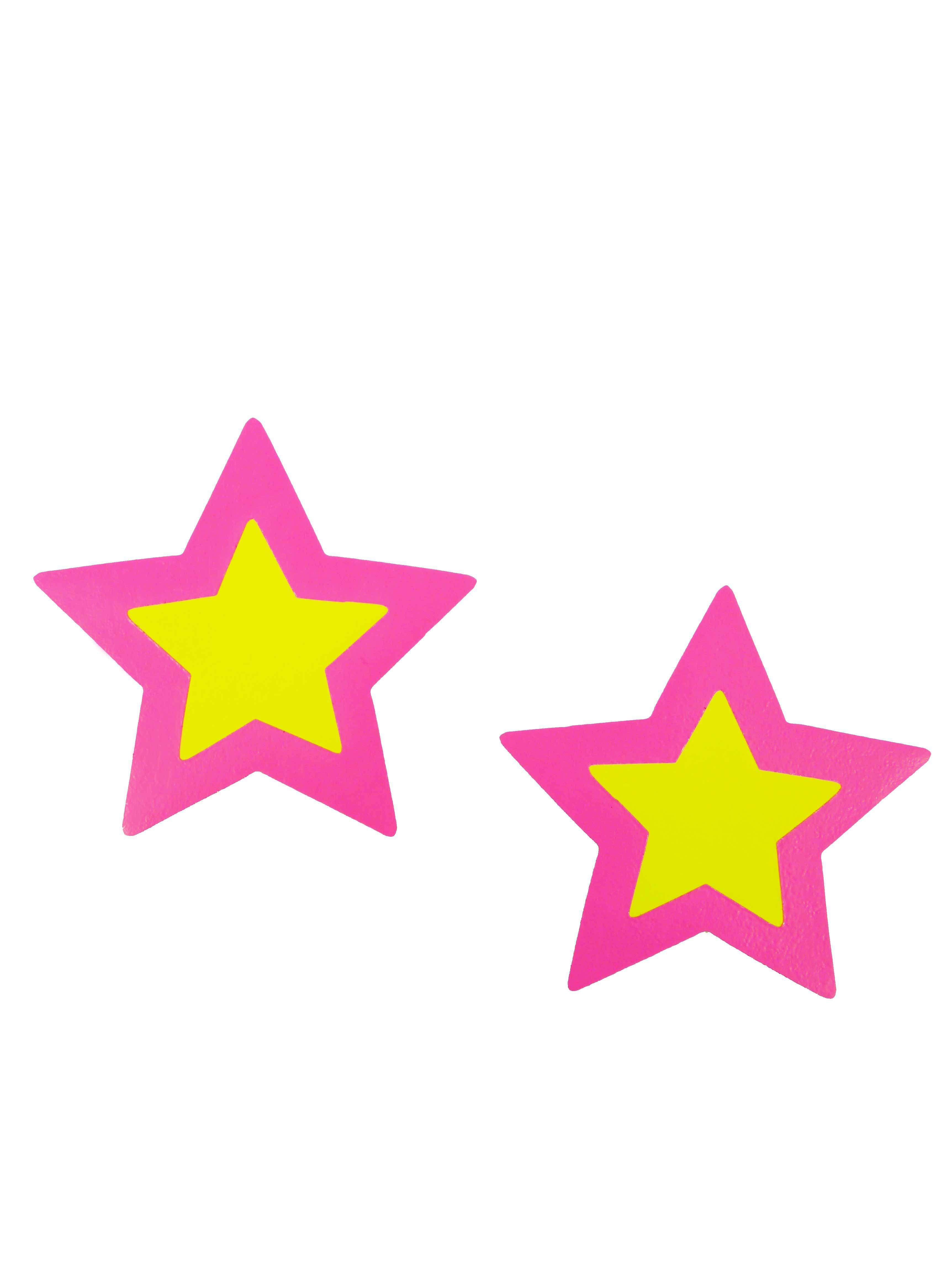 Neva Nude Neon Star Nipple Covers
