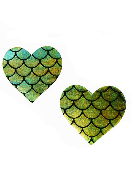 Neva Nude Mermaid Heart Nipple Covers