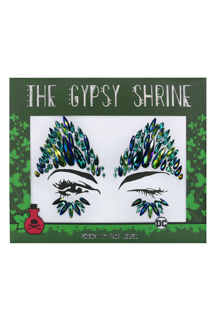 Gypsy Shrine Poison Ivy Face Jewel