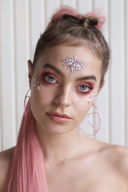 Go Get Glitter Pink Lemonade Face Jewel