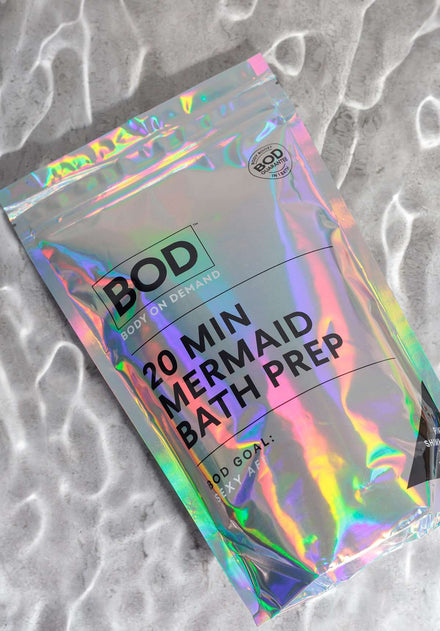 BOD Mermaid Bath Prep