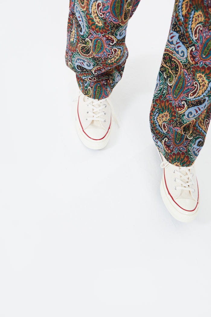 Paisley Tapestry Jeans In Skate Fit Jaded London
