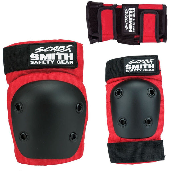 SMITH SCABS SET | TRI PACK | RED