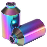 Envy Chromo Wheel Pegs 4130 Peg- Oil Slick