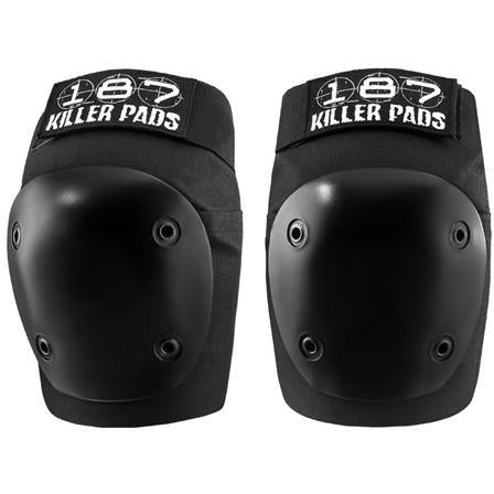 187 | Fly Knee Pads L Black w Black Caps
