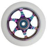 Flavor Awakening 110mm Wheels WHITE on NEO CHROME (Individual)