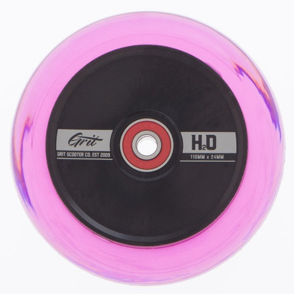 Grit | H2O Trans Pink / Black Core | 110x24mm (PAIR)