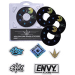 Envy | 120mm Wheel Sticker | Pacman