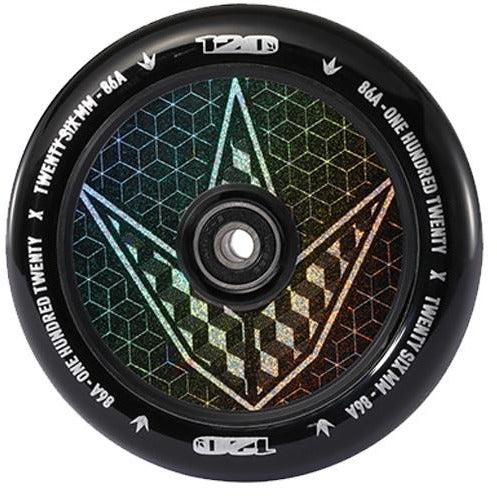 Envy 120mm Wheels Hollow Gram Geo Logo