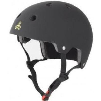 Triple 8 Certified Helmet | L/XL | Black Rubber