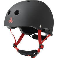 Triple 8 Helmet | Lil 8 Junior Helmet | Certified Black Rubber