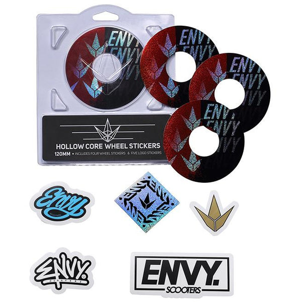 Envy | 120mm Wheel Sticker | Split Envy