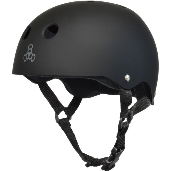 Triple 8 Helmet | XS | Black Rubber