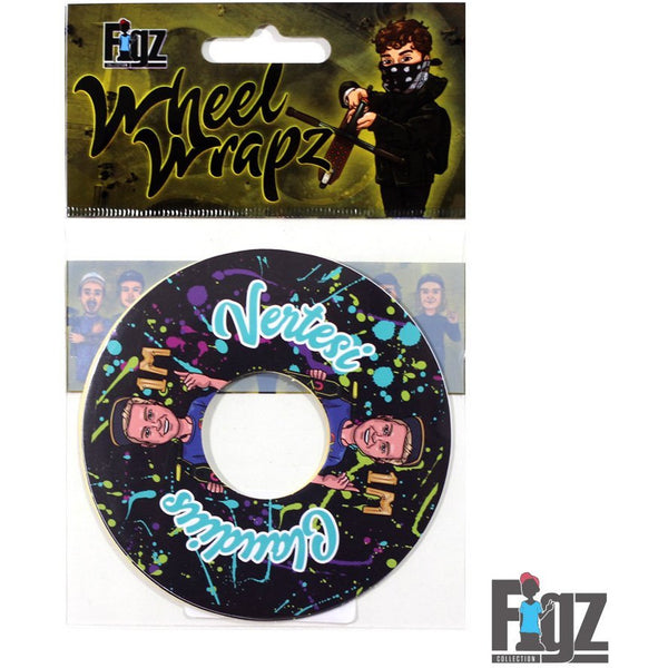 Figz | 110mm Wheel Sticker | Claudius Vertesi