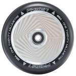 Fasen 120mm Wheel - Square Chrome / Black PU