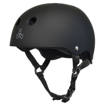 Triple 8 Helmet | M | Black Rubber