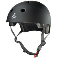 Triple 8 MIPS Certified Helmet | L/XL | Matte Black