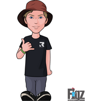 Figz Sticker Root - Derek Marr