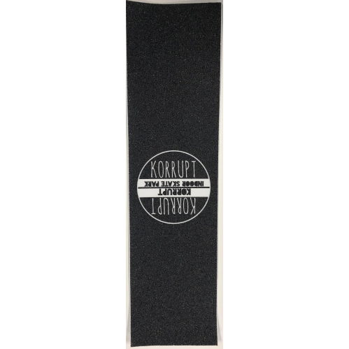 Grip Tape | Korrupt Round Logo White