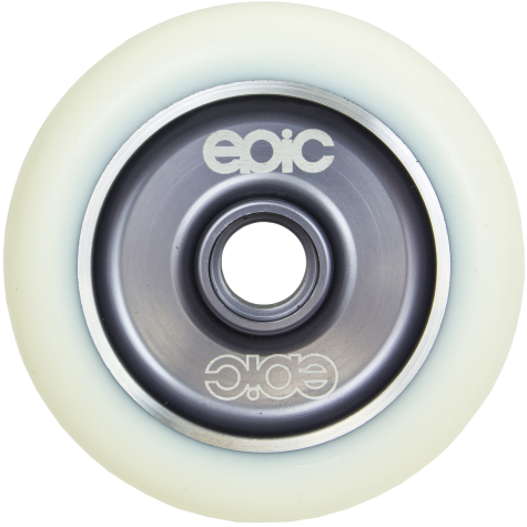 Epic Wheel | White on Grey 110mm | Individual