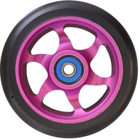Flavor Awakening 110mm Wheels BLACK on PURPLE
