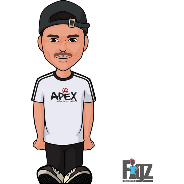 Figz Sticker Apex - Jesse Bayes