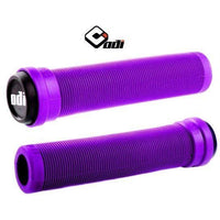 ODI BMX LONGNECK SL FLANGELESS GRIP PURPLE SOFT COMPOUND