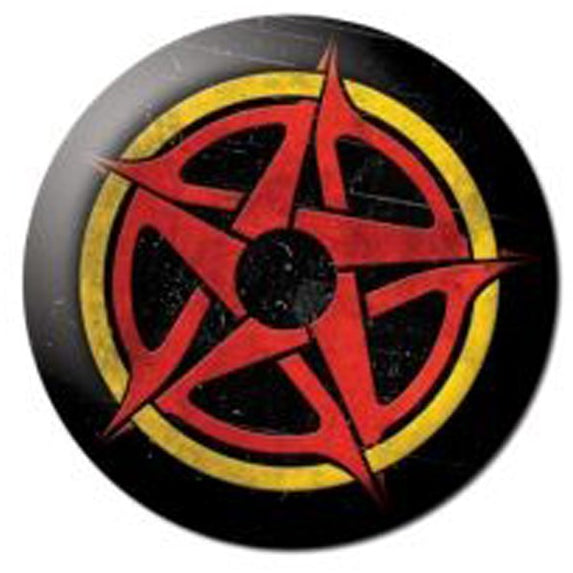 Proto Button - Red/Yellow Logo