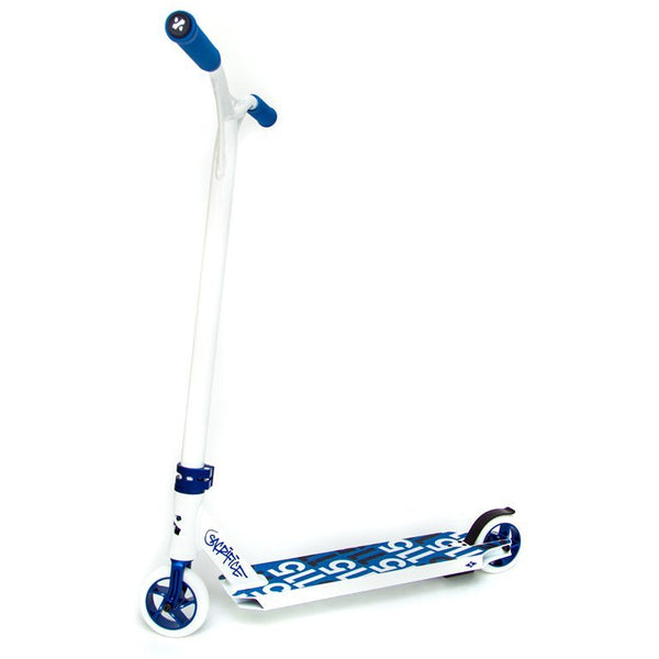 Sacrifice Flyte 115 Complete White / Blue Complete Scooter