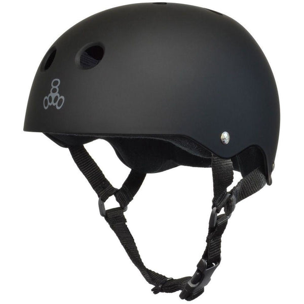 Triple 8 Helmet | XL | Black Rubber