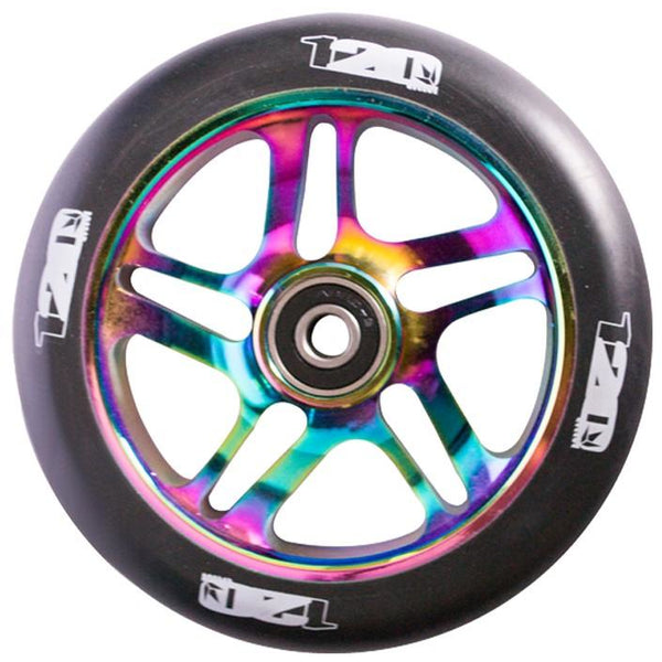 Envy 120mm 5 Spoke Wheel- Oil Slick on Black