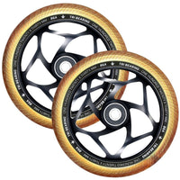 ENVY 120x30mm Tri Bearing wheel Gold/Black