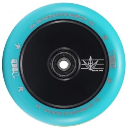 Envy 110mm Wheel Hollow Core Blue Glow / Teal (Individual)