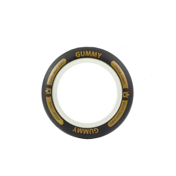 Rogue 110mm Gummy ( 1 pce) wheel Ring Black/Orange (Individual)