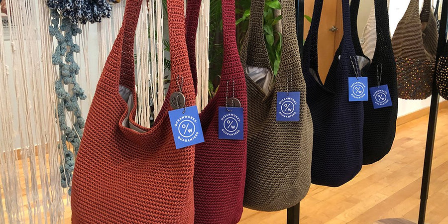 How The Sak Debuted their New Vision for Sustainability with Oceanworks Plastic