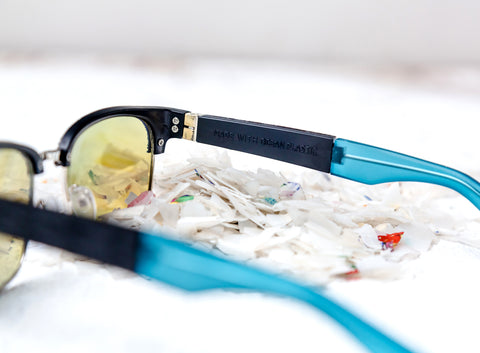 Made with ocean plastic sunglasses