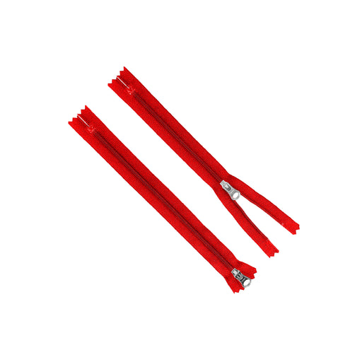 YKK® x Oceanworks Natulon® Zipper - Size #3 - Red