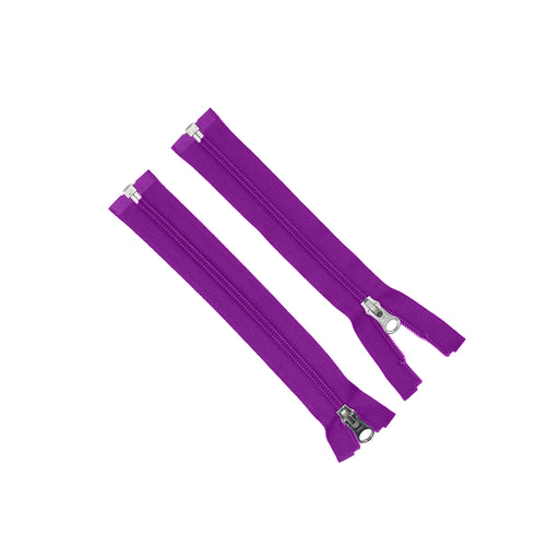 YKK® x Oceanworks Natulon® Zipper - Size #5 - Purple