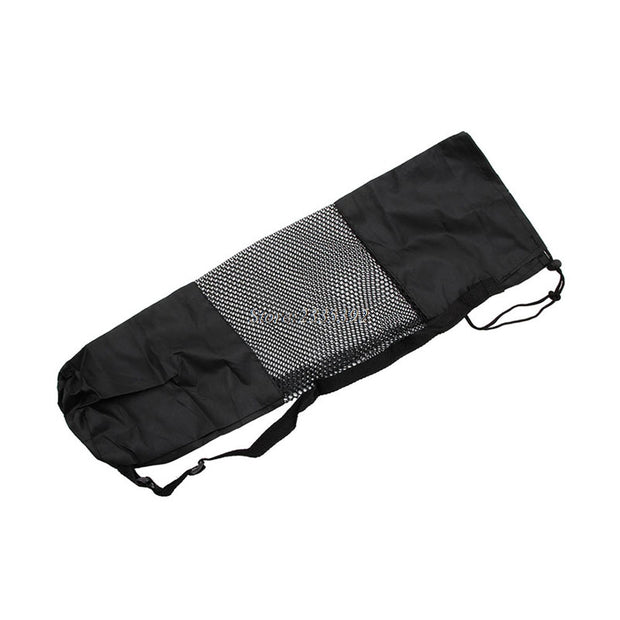 Nylon Yoga Pilates Mat Carrier Bag w/ Adjustable Strap