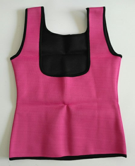 'Body Shapers' Sleeveless Fat Burning Yoga Top