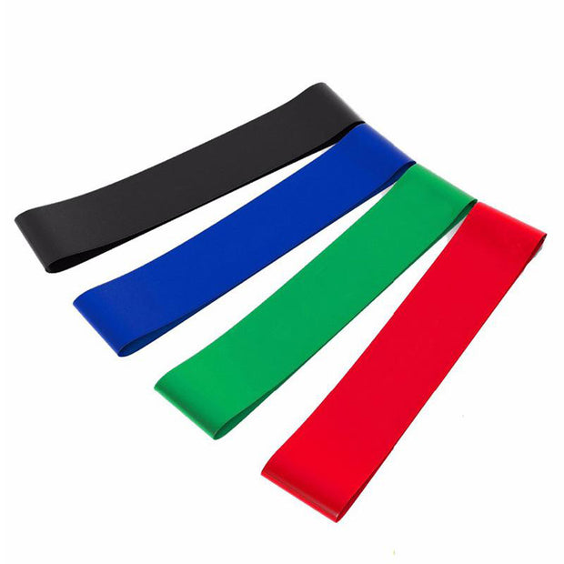 4pcs/set 50cm Elastic Resistance Bands