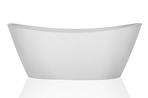 Empava Luxury Freestanding Acrylic Soaking SPA Tub Modern Stand Alone Bathtubs with Custom Contemporary Design (67