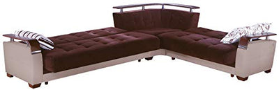 ISTIKBAL Multifunctional Furniture Living Room SECTIONAL Sofa Colins Brown Natural Collection