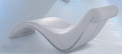 Limari Home LIM-12687 Idda Lounge Chaise, Small, White