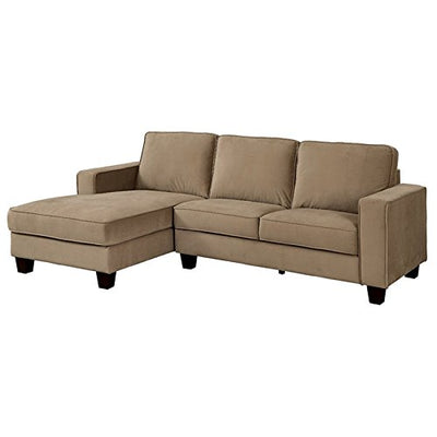 Furniture of America Edson Sectional in Brown